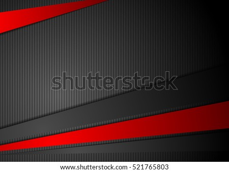 tech black background with