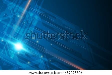 tech digital futuristic speed connection design concept background