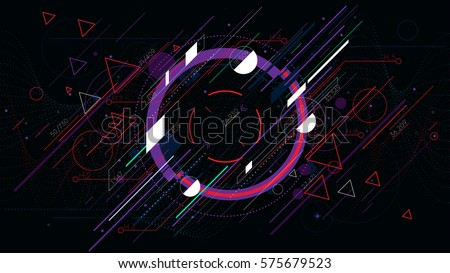 tech futuristic abstract