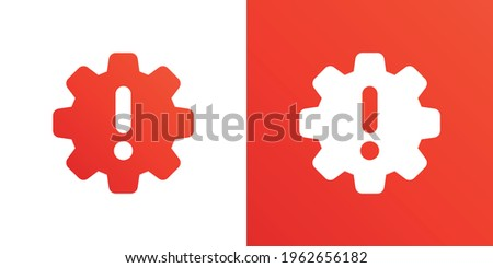 Technical problem icon vector illustration. Сток-фото ©