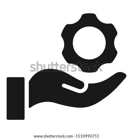Technical support icon. Vector support.