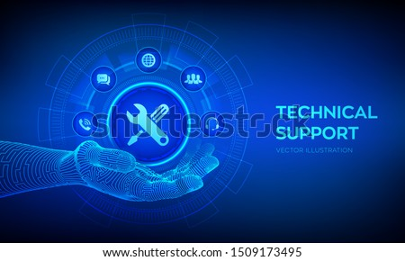 technical support in robotic