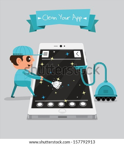 Technician smartphone service to your application | Clean Your App