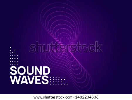 Techno event. Dynamic fluid shape and line. Geometric concert banner template. Neon techno event flyer. Electro dance music. Electronic sound. Trance fest poster. Club dj party.