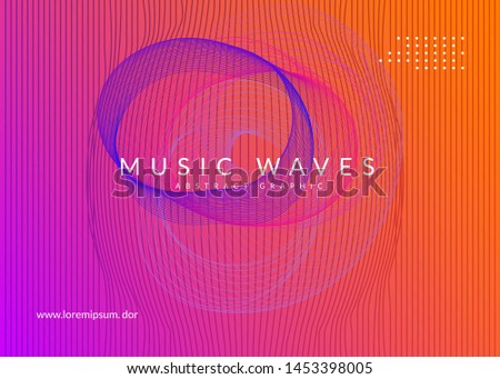 Techno event. Energy concert cover layout. Dynamic fluid shape and line. Neon techno event flyer. Electro dance music. Electronic sound. Trance fest poster. Club dj party.