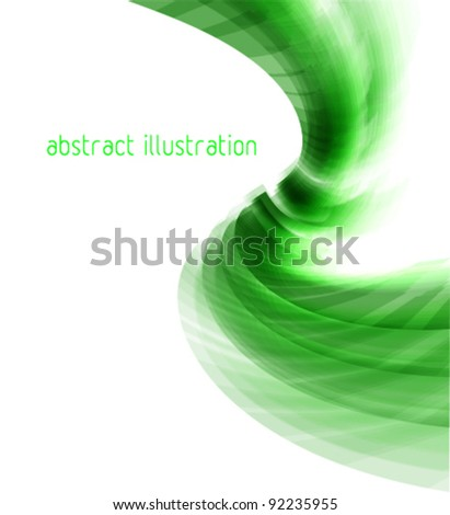 techno style green abstract illustration