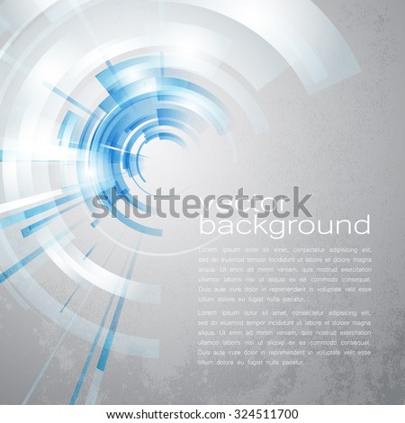 techno vector circle abstract