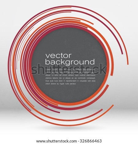 techno vector circle abstract