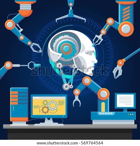 technologic futuristic industry