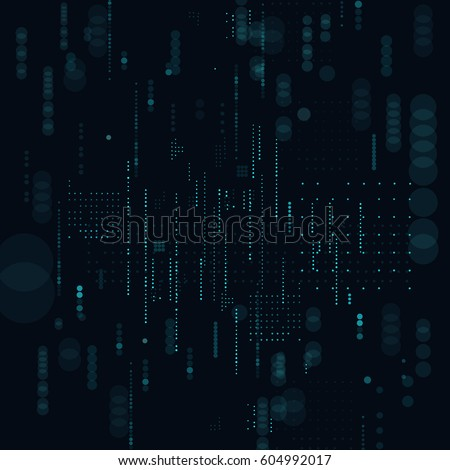 Technological background vector illustration