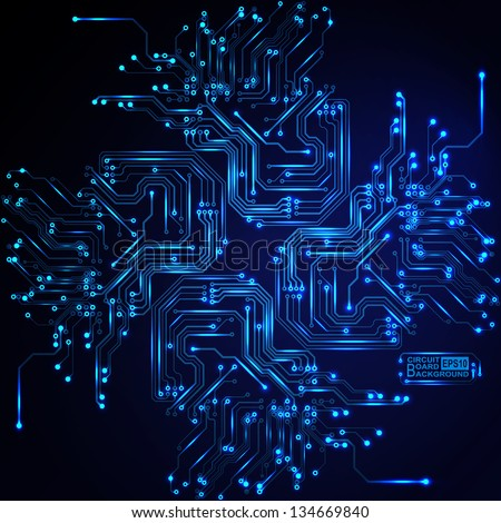 technological vector background