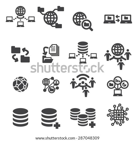 technology and data icon