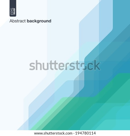 Technology concept. Vector abstract background with technical lines for presentations, business, web, computer and mobile apps, graphic design: colored digital network in geometric motion