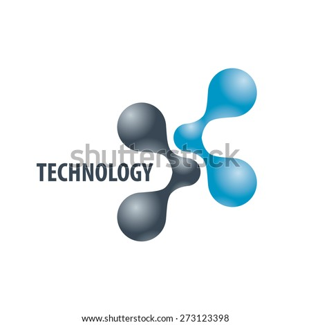 technology logo in the form of