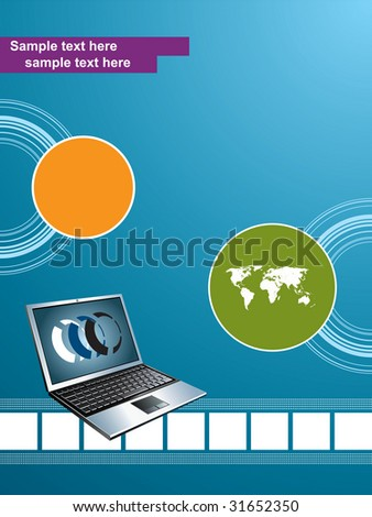 Technology Mobile Background Stock Vector 31652350 : Shutterstock
