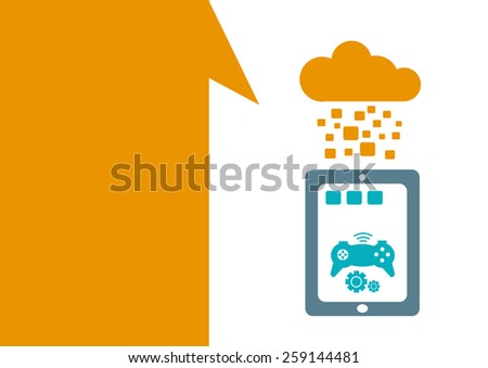technology placeholder with