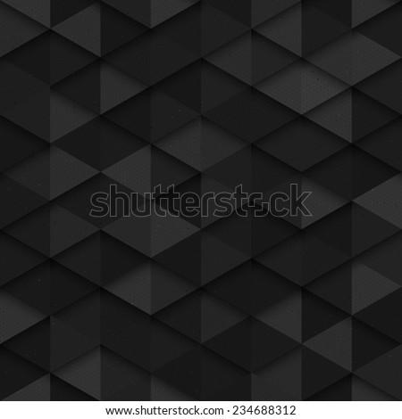 Technology seamless vector dark pattern. Seamless dark gray vector abstract art background. Dark seamless structure background. Carbon structure vector