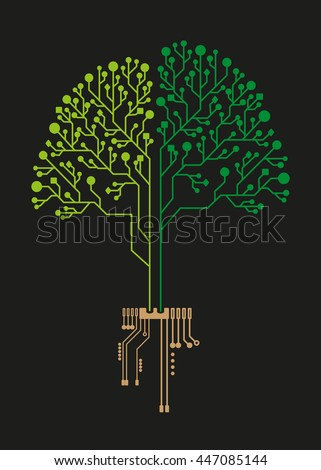 technology tree circuit for