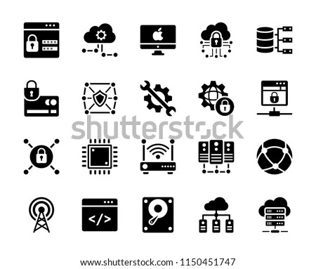 Technology Vector Icons Collection