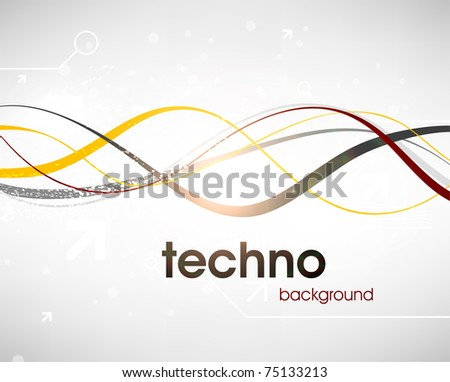 Technology web background/banner for business design. Eps 10.