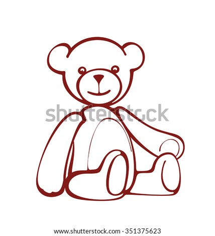 teddy bear  bear lover  vector