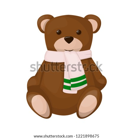 teddy bear cute brown childhood