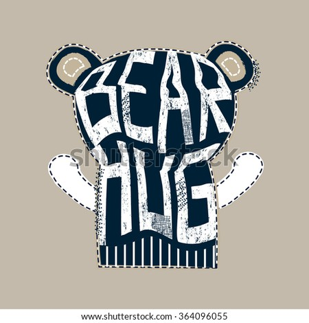 teddy bear hugs  t shirt design