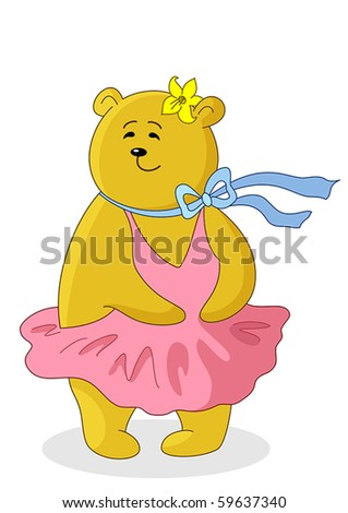 teddy bear marylin monroe in