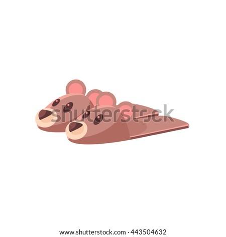 teddy bear slippers cute