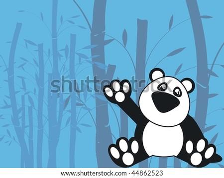 teddy wallpaper. stock vector : teddy wallpaper