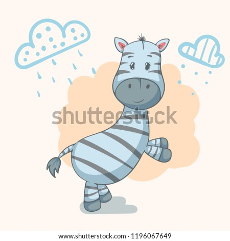 stock-vector-teddy-zebra-cute-animal-characters-idea-for-print-t-shirt-vector-eps