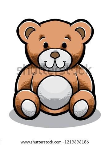 teddybear vector art