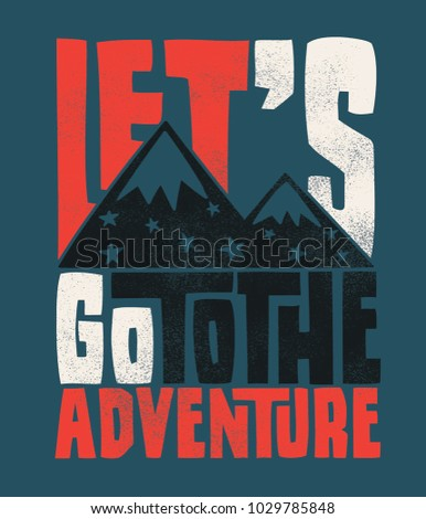 Stock Photo tee print design as vector for kids fashion