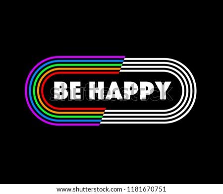 tee print design with slogan