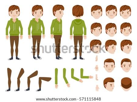 teenage boy character creation