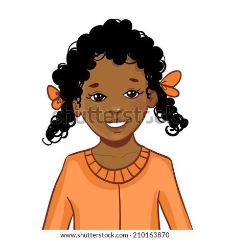 teenager cartoon african