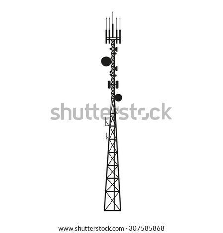 telecommunication mast or