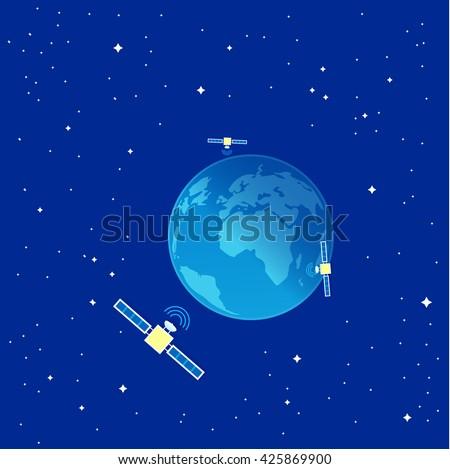 telecommunications satellites