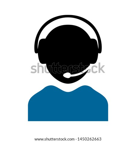 telemarketers icon. Logo element illustration. telemarketers symbol design. colored collection.  telemarketers concept. Can be used in web and mobile