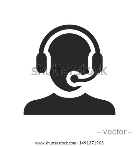 telemarketers icon. Logo element illustration. telemarketers symbol design. colored collection. telemarketers concept. Can be used in web and mobile Foto stock ©
