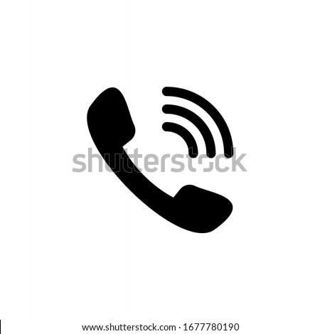 Telephone icon. Call, phone icon vector illustration