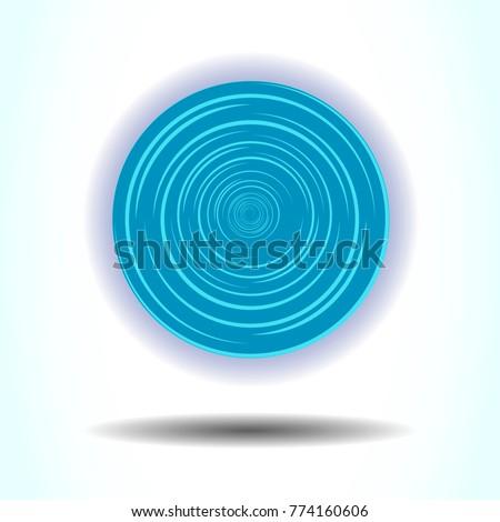 teleportation portal vector
