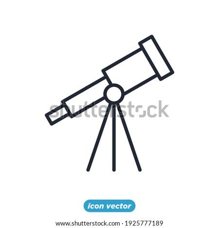 telescope astronomy icons