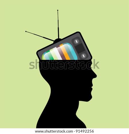 Television head.