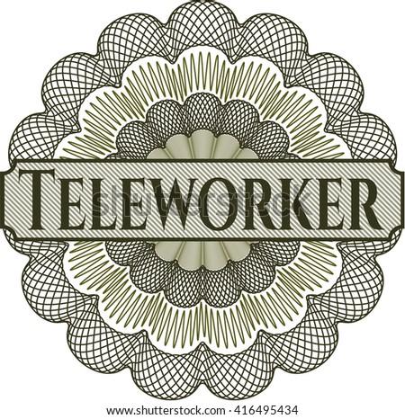 Teleworker rosette