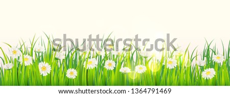 template background spring