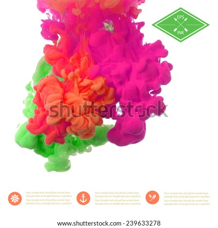 template design with vector