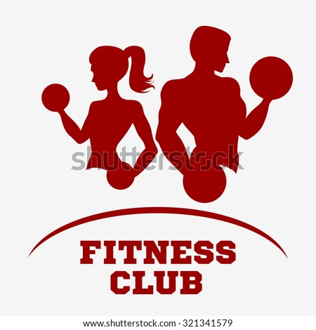 template for fitness logo