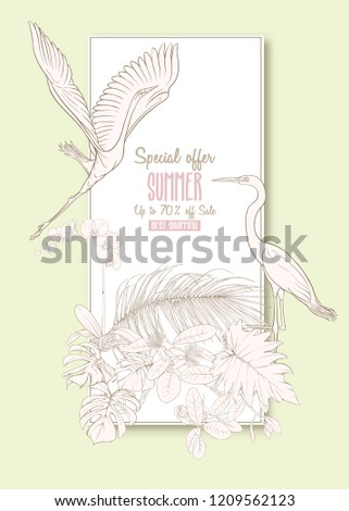 template for greeting card