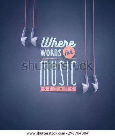template for music quotes  eps